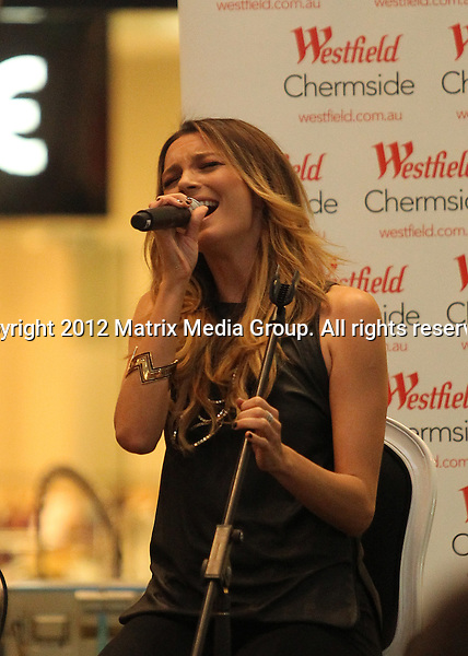 BRISBANE QLD AUSTRALIA..***NON EXCLUSIVE***..Ricki-Lee performs songs from her new album Fear & Freedom at Westfield Chermside. ...*No internet without clearance*.MUST CALL PRIOR TO USE ..+61 2 9211-1088.Matrix Media Group.Note: All editorial images subject to the following: For editorial use only. Additional clearance required for commercial, wireless, internet or promotional use.Images may not be altered or modified. Matrix Media Group makes no representations or warranties regarding names, trademarks or logos appearing in the images.