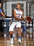 Texas-Arlington Mavericks guard Cameron Catlett (25) in action during the game between the Texas A&M- Corpus Christi Islanders and the University of Texas-Arlington Mavericks held at the University of Texas in Arlington's Texas Hall in Arlington, Texas. UTA defeats Texas A&M- Corpus Christi 70 to 49..