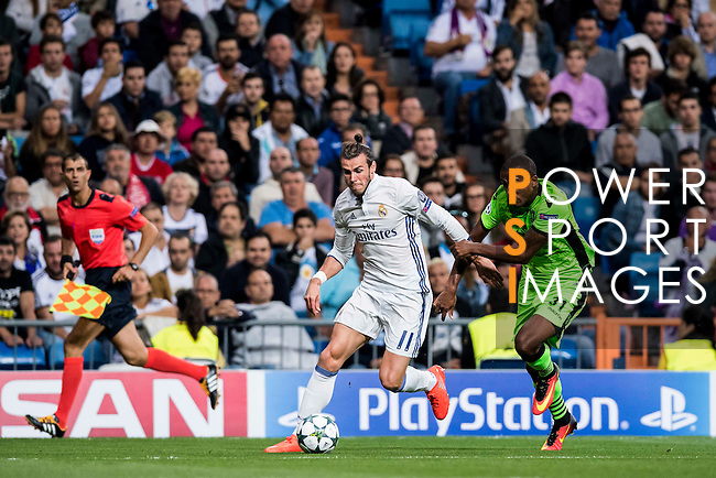 Real Madrid vs Sporting Portugal during their 2016-17 UEFA Champions League match at the Santiago Bernabeu Stadium on 14 September 2016 in Madrid, Spain. Photo by Diego Gonzalez Souto / Power Sport Images