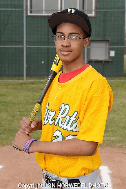 Huron High School freshman baseball team.
