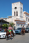 Boys On Horses Downtown Isabel II