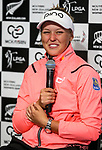 Brooke Henderson wins the McKayson NZ Women's Open. McKayson NZ Women's Golf Open, Round Five, Windross Farm Golf Course, Manukau, Auckland, New Zealand, Monday 2nd October 2017.  Photo: Simon Watts/www.bwmedia.co.nz