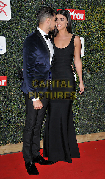 Louis Smith &amp; Lucy Mecklenburgh attend the Daily Mirror Pride of Sport Awards 2015, Grosvenor House Hotel, Park Lane, London, England, UK, on Wednesday 25 November 2015. <br /> CAP/CAN<br /> &copy;Can Nguyen/Capital Pictures