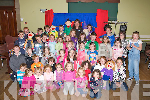PUNCH & JUDY: The children of Na Gaeil GAA Club were treated to a big surprise on Sunday at their Club as the Punch & Judy Show arrived at the Club and the children went mad. .......