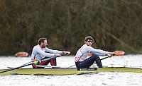 Caversham. Berkshire. UK<br /> GBR. M2-. Bow. Nathaniel RIELLY-O'DONNELL and Matt TARRANT.<br /> 2016 GBRowing European Team Announcement,  <br /> <br /> Wednesday  06/04/2016 <br /> <br /> [Mandatory Credit; Peter SPURRIER/Intersport-images]