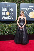 Natalie Morales arrives at the 75th Annual Golden Globes Awards at the Beverly Hilton in Beverly Hills, CA on Sunday, January 7, 2018.<br /> *Editorial Use Only*<br /> CAP/PLF/HFPA<br /> &copy;HFPA/Capital Pictures<br /> *Editorial Use Only*<br /> CAP/PLF/HFPA<br /> &copy;HFPA/Capital Pictures