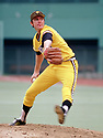 CIRCA 1978:  Bert Blyleven #22 of the Pittsburgh Pirates pitching during a game from his 1978 season with the Pittsburgh Pirates.  Bert Blyleven played for 22 years with 4 different, was a 2-time All-Star and was inducted to the Baseball Hall of Fame in 2011.(Photo by: 1978 : SportPics : Bert Blyleven