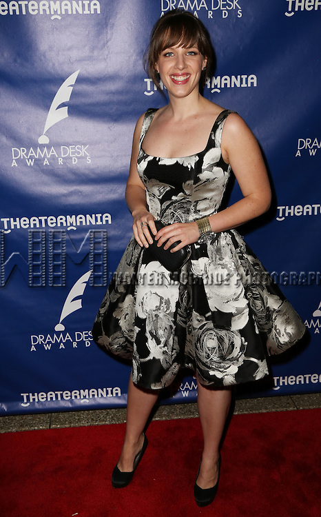 Jessie Mueller attends the 2015 Drama Desk Awards at Town Hall on May 31, 2015 in New York City.