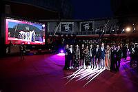 Il cast<br /> Roma 29-04-2016 Auditorium Parco della Musica. Red Carpet del film 'Tini, la nuova vita di Violetta'<br /> Rome 29th April 2016. 'Tini - The New Life Of Violetta' Premiere.<br /> Photo Samantha Zucchi Insidefoto