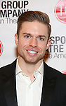 Hunter Ryan Herdlicka attends the Transport Group Theatre Company 'A Toast to the Artist - An Evening with Mary-Mitchell Campbell & Friends'  at The The Times Center on February 6, 2017 in New York City.