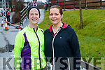 Claire Finn and Siobhan Devane (Dingle), who took part in the Optimal Fitness 10 miler and 5k road race, at The Rose Hotel, Tralee, on Sunday morning last.