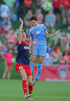 Boyds, MD - Saturday July 09, 2016: Taylor Comeau, Joanna Lohman during a regular season National Women's Soccer League (NWSL) match between the Washington Spirit and the Chicago Red Stars at Maureen Hendricks Field, Maryland SoccerPlex.