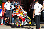Gran Premi Monster de Catalunya in Montmeló Circuit<br /> 14/06/2014 <br /> motoGP free&Qualifyng practices<br /> marc marquez<br />