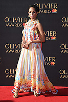 Lily Frazer<br /> arriving for the Olivier Awards 2017 at the Royal Albert Hall, Kensington, London.<br /> <br /> <br /> &copy;Ash Knotek  D3245  09/04/2017