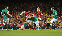 No way through for Wales Rhys Carre<br /> <br /> Photographer Ian Cook/CameraSport<br /> <br /> 2019 Under Armour Summer Series - Wales v Ireland - Saturday 31st August 2019 - Principality Stadium - Cardifff<br /> <br /> World Copyright © 2019 CameraSport. All rights reserved. 43 Linden Ave. Countesthorpe. Leicester. England. LE8 5PG - Tel: +44 (0) 116 277 4147 - admin@camerasport.com - www.camerasport.com