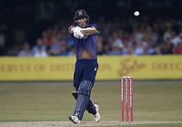Daniel Lawrence hits 4 runs for Essex during Essex Eagles vs Middlesex, Vitality Blast T20 Cricket at The Cloudfm County Ground on 6th July 2018
