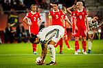 25.07.2017, Stadion Galgenwaard, Utrecht, NLD, Tilburg, UEFA Women's Euro 2017, Russland (RUS) vs Deutschland (GER), <br /> <br /> im Bild | picture shows<br /> Dzsenifer Marozsan (Deutschland #10) | (Germany #10) tritt zum Elfmeter an, <br /> <br /> Foto © nordphoto / Rauch