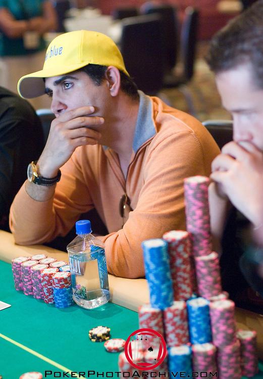 Valentino Morella contemplates a move.