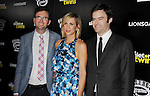 HOLLYWOOD, CA- SEPTEMBER 10: (L-R) Director Craig Johnson, actress Kristen Wiig and actor Bill Hader attend 'The Skeleton Twins' Los Angeles premiere held at the ArcLight Hollywood on September 10, 2014 in Hollywood, California.