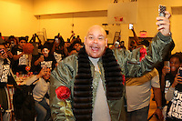 NEW YORK, NY - NOVEMBER 23, 2016 Fat Joe attends the LaLa & Friends Educational Alliance Boys & Girls Club Thanksgiving Event, November 23, 2016 in New York City. Photo Credit: Walik Goshorn / Mediapunch