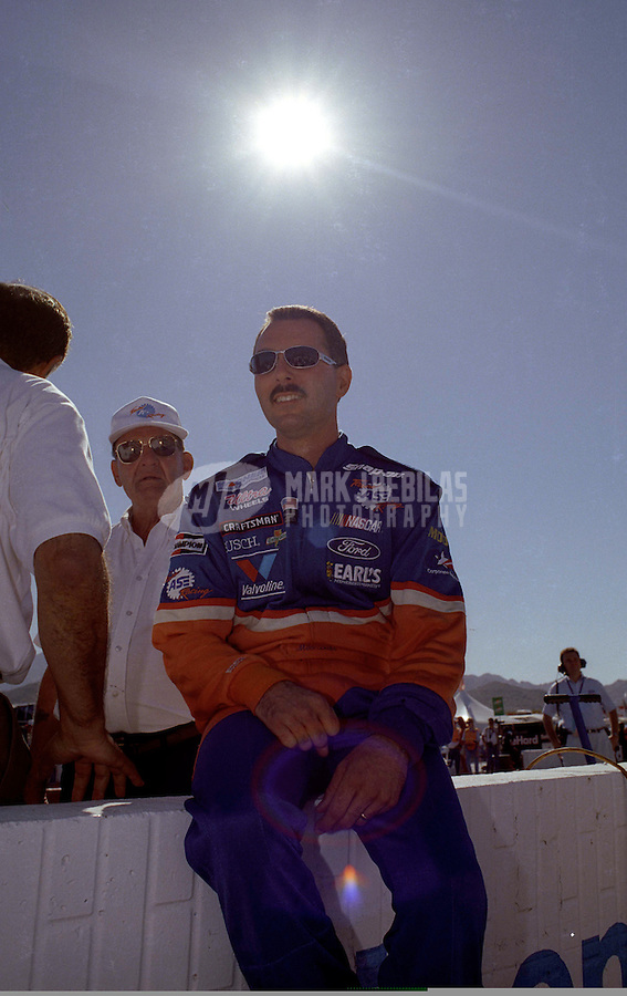 Nov. 1, 1997; Avondale, AZ, USA; NASCAR Craftsman Truck Series driver Mike Bliss during the GM Goodwrench/Delco 300 at Phoenix International Raceway. Mandatory Credit: Mark J. Rebilas-
