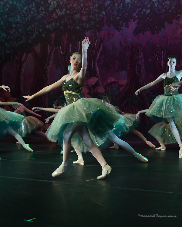 """Second Dress Rehearsal for """"Flight To Neverland"""", the 2013 Annual Recital by the Cary Ballet Conservatory."""