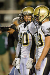 Torrance, CA 10/06/11 - Matt Buchholz (Peninsula #20) in action during the Peninsula vs South Varsity football game.