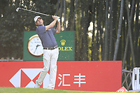 Kevin Kisner (USA) on the 17th tee during the final round of the WGC HSBC Champions, Sheshan Golf Club, Shanghai, China. 03/11/2019.<br /> Picture Fran Caffrey / Golffile.ie<br /> <br /> All photo usage must carry mandatory copyright credit (© Golffile | Fran Caffrey)