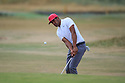 Tony Finau (USA) during the first round of the 147th Open Championship played at Carnoustie Links, Angus, Scotland. 19/07/2018<br /> Picture: Golffile | Phil Inglis<br /> <br /> All photo usage must carry mandatory copyright credit ©Phil INGLIS)