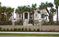 Nice home overlooking Gulf Boulevard and the Gulf of Mexico.  Belleair Beach Tampa Bay Area Florida USA