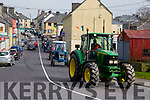 some of the large crowd at the Mid Kerry Macra na Feirme Tractor run in aid of Down syndrome in Milltown on Sunday
