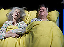 Love and Information by Caryl Churchill, directed by James MasDonald.  Sleep with Susan Engel and Paul Jesson. Opens at The Royal Court Theatre Downstairs  on 14/9/12.CREDIT Geraint Lewis