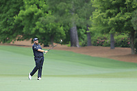 Shane Lowry (IRL) on the 2nd fairway during the 2nd round at the The Masters , Augusta National, Augusta, Georgia, USA. 12/04/2019.<br /> Picture Fran Caffrey / Golffile.ie<br /> <br /> All photo usage must carry mandatory copyright credit (© Golffile | Fran Caffrey)