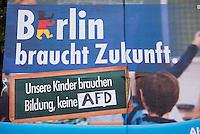 2016/08/11 Berlin | Abgeordnetenhauswahl | AfD-Wahlplakat