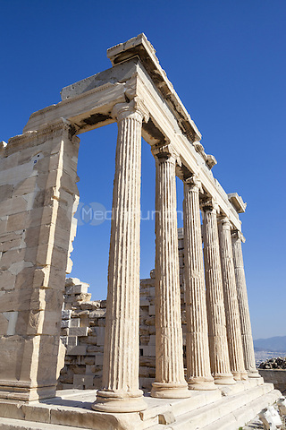 The Erechtheion, at the Acropolis, Athens, Greece <br /> CAP/MEL<br /> &copy;MEL/Capital Pictures /MediaPunch ***NORTH AND SOUTH AMERICA ONLY***