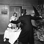 Eva frightened 1940s