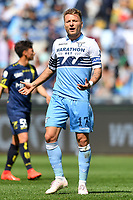 Ciro Immobile of Lazio reacts during the Serie A 2018/2019 football match between SS Lazio and AC Chievo Verona at stadio Olimpico, Roma, April, 20, 2019 <br /> Photo Antonietta Baldassarre / Insidefoto