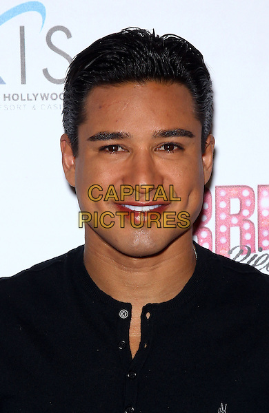 27 December 2013 - Las Vegas, Nevada - Mario Lopez.  Red Carpet for Grand Opening of &ldquo;Britney: Piece of Me&rdquo; at Planet Hollywood Resort &amp; Casino.<br /> CAP/ADM/MJT<br /> &copy; MJT/AdMedia/Capital Pictures