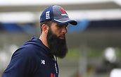 June 10th 2017, Edgbaston, Birmingham, England;  ICC Champions Trophy Cricket, England versus Australia; Moeen Ali of England warms up