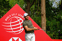 Jason Day (AUS) on the 9th tee during the 2nd round at the WGC HSBC Champions 2018, Sheshan Golf CLub, Shanghai, China. 26/10/2018.<br /> Picture Fran Caffrey / Golffile.ie<br /> <br /> All photo usage must carry mandatory copyright credit (&copy; Golffile | Fran Caffrey)