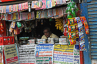 Magazine stand in Madras, India