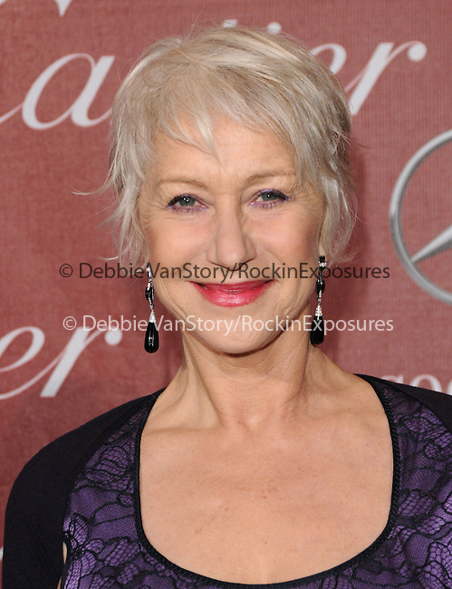 Helen Mirren Hackford attends the 2011 Palm Springs International Film Festival Awards Gala held at The Palm Springs Convention Center in Palm Springs, California on January 08,2011                                                                               © 2010 Hollywood Press Agency