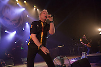 CHICAGO, IL - SEPTEMBER 14: The Offspring perform on Day 1 of Riot Fest at The Congress Theatre in Chicago, Illinois. September 14, 2012.