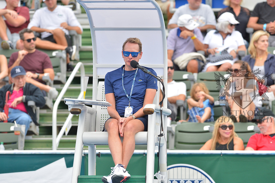 DELRAY BEACH, FL - NOVEMBER 24: Carson Kressley attends the 30TH Annual Chris Evert Pro-Celebrity Tennis Classic Day3 at the Delray Beach Tennis Center on November 24, 2019 in Delray Beach, Florida.  ( Photo by Johnny Louis / jlnphotography.com )