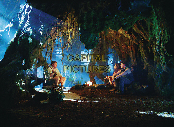 WILL FERRELL, ANNA FRIEL & DANNY McBRIDE.in Land of the Lost.*Filmstill - Editorial Use Only*.CAP/FB.Supplied by Capital Pictures.