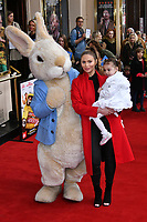 Amy Childs attends press performance of Where Is Peter Rabbit? musical following the beloved character Peter Rabbit and his friends in a story based on Beatrix Potter's magical world, at Theatre Royal Haymarket<br /> CAP/JOR<br /> &copy;JOR/Capital Pictures
