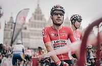 Maxime Monfort (BEL/Lotto-Soudal) at the start<br /> <br /> 2017 National Championships Belgium - Elite Men - Road Race (NC)<br /> 1 Day Race: Antwerpen &gt; Antwerpen (233km)
