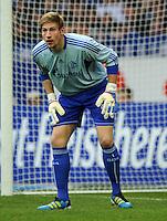 FUSSBALL   1. BUNDESLIGA   SAISON 2011/2012    11. SPIELTAG FC Schalke 04 - 1899 Hoffenheim                            29.10.2011 Torwart Lars UNNERSTALL (Schalke)