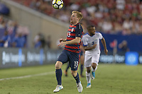 Tampa, FL - July 12, 2017: Dax McCarty The USMNT (USA) defeated Martinique (MAR) 3-2 in a 2017 Gold Cup group stage match at Raymond James Stadium.