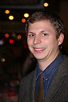 Michael Cera leaving the stage door after the opening night performance of 'This Is Our Youth' at the Cort Theatre on September 11, 2014 in New York City.